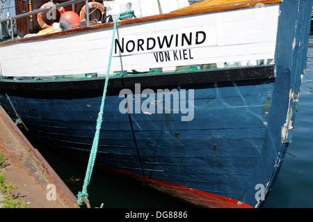 MS NORDWIND, Laboe, Schleswig-Holstein, Deutschland, Europa.   MV NORDWIND, Laboe, Schleswig-Holstein, Germany, Europe. - Stock Image
