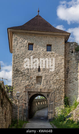 Trencin Castle Slovakia - Stock Image