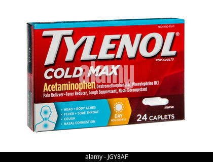Tylenol Cold Max - Stock Image