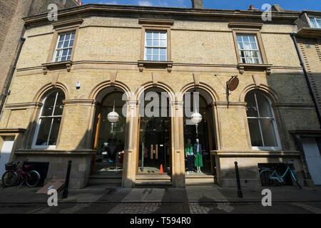 Jigsaw ladies clothing retailer from Green Street Cambridge 2019 - Stock Image
