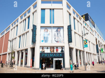 Primark shop,primark store Sheffield City center Sheffield South Yorkshire England uk gb Europe - Stock Image