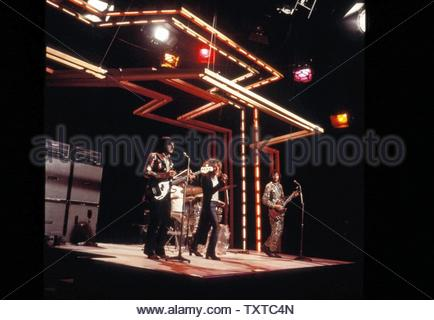 The Who 1971 Credit: 385897_Globe Photos/MediaPunch - Stock Image