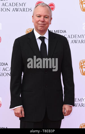 London, UK. 12th May, 2019. LONDON, UK. May 12, 2019: Steve Pemberton arriving for the BAFTA TV Awards 2019 at the Royal Festival Hall, London. Picture: Steve Vas/Featureflash Credit: Paul Smith/Alamy Live News - Stock Image