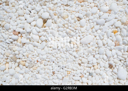 Background texture of marble pebbles. - Stock Image
