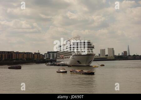 Viking Star , Greenwich , London , UK - Stock Image