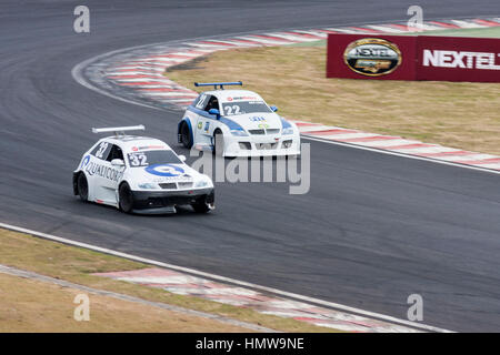 Stock Car Junior Interlagos Brazil - Stock Image