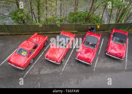 Concors delegance for Sunbeam Tiger vintage sports cars. - Stock Image