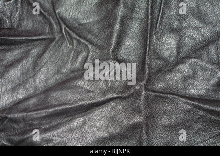 Leather texture - Stock Image