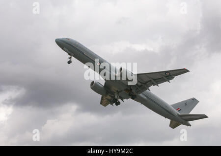 Royal New Zealand Air Force Noeing 757 - Stock Image