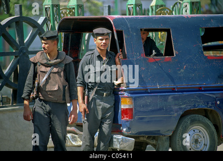 Soldiers, Cairo, Egypt - Stock Image