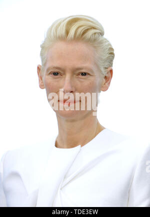 72nd Cannes Film Festival 2019, Photocall film Dead Don't Die Pictured: Tilda Swinton  Where: Cannes, France, France When: 15 May 2019 Credit: IPA/WENN.com  **Only available for publication in UK, USA, Germany, Austria, Switzerland** - Stock Image