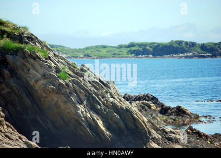 Scottish shoreline - Stock Image