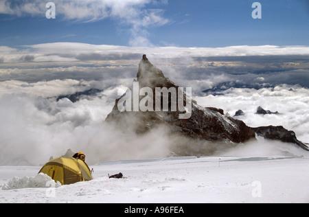 Mount Little Tahoma - Stock Image