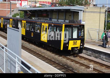 Metro Station, Millfield, Sunderland. - Stock Image