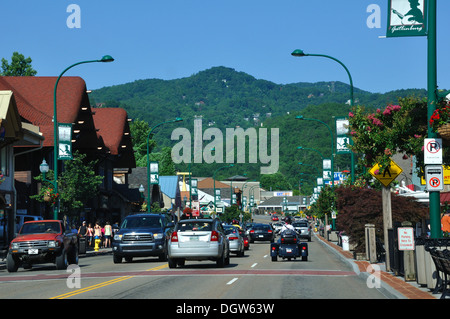Gatlinburg, Tennessee, USA - Stock Image