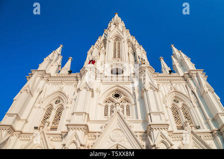 Our Lady of Ransom Church is a Catholic church located at Kanyakumari city in Tamil Nadu state of India - Stock Image