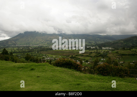 Otavalo Valley, Imbabura Near Quito, Ecuador, South America. - Stock Image