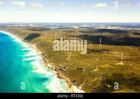 Albany Wind Farm, Western Australia. - Stock Image