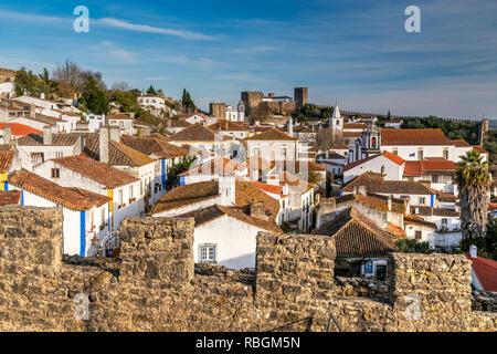 Obidos, Centro, Portugal - Stock Image