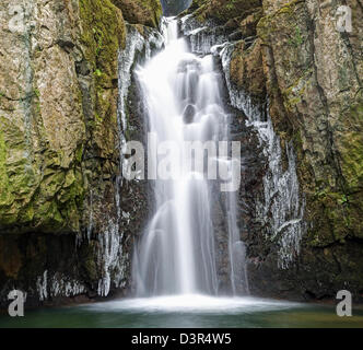 Catrigg Force Lower Fall - Stock Image