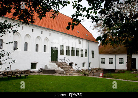 Dueholm monastery in Nykoebing Mors Denmark - Stock Image