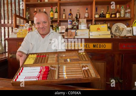 La Bodeguita del Medio, Havanna Viejo, Hemingway Bar in Havanna, Cuba, - Stock Image