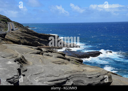 Makapu'u Point - Oahu, Hawaii - Stock Image