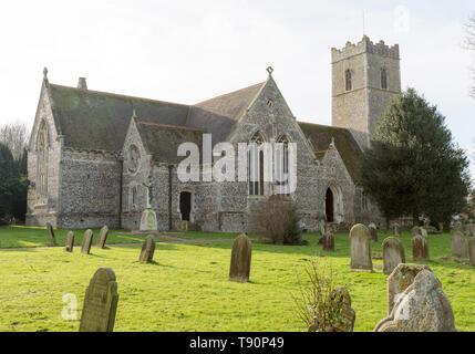 Nineteenth century building of Saint Margaret, Leiston, Suffolk, England, UK - Stock Image