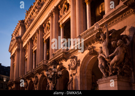 Opéra Garnier, Paris, France. - Stock Image