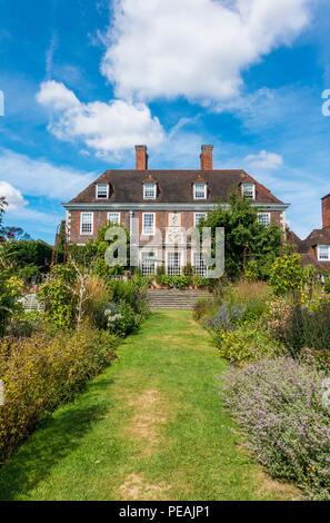 The Salutation,House,and,Garden,Sandwich,Kent,England,UK - Stock Image