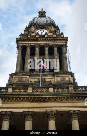 Town Hall in Leeds, United Kingdom - Stock Image