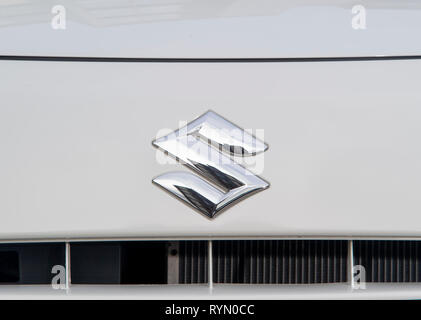 2014 Suzuki Alto compact city car - Stock Image
