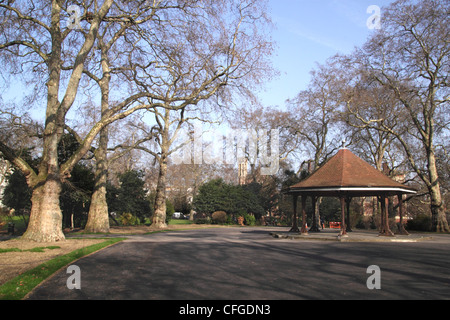Park at Lincolns Inn Fields London - Stock Image