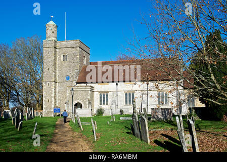 St Peter's Church, Bishop's Waltham, Hampshire, England UK - Stock Image
