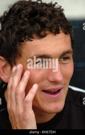 Footballer Keith Andrews 2004 - Stock Image