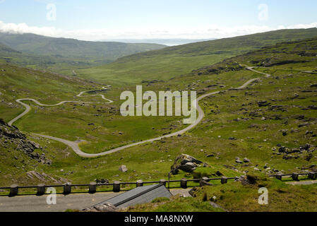 The Tim Healy Pass on Beara Peninsula, West Cork, Ireland - Stock Image