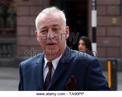 File photo dated 23/5/2017 of Michael Barrymore. Piers Morgan has said he entertainer feels 'raw anger' over the circumstances of his ruined career. - Stock Image