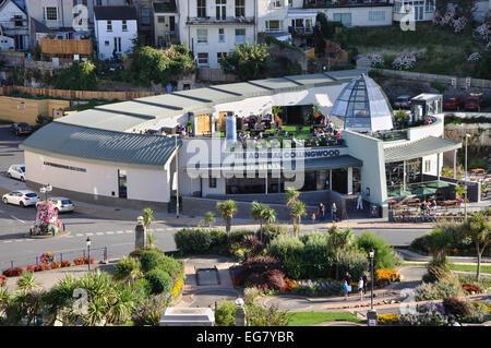 The Admiral Collingwood, Wetherspoons public house, Ifracombe, Devon, England, UK - Stock Image