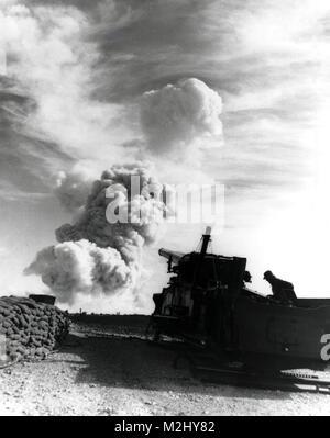 Operation Upshot-Knothole GRABLE, 1953 - Stock Image