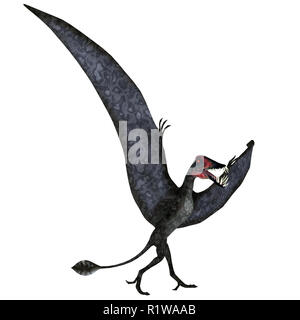 Dorygnathus was a carnivorous Pterosaur reptile that lived in Europe during the Jurassic Period. - Stock Image