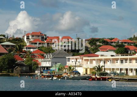 St Barths Gustavia Harbor - Stock Image