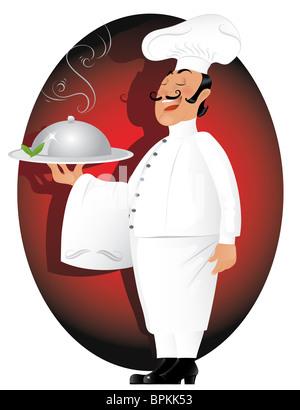 Professional Chef - Stock Image