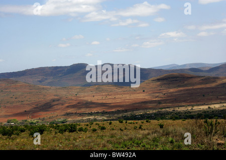 Part of the Drakensburg Escarpment and the Panorama Route, Mpumalanga, South Africa. - Stock Image