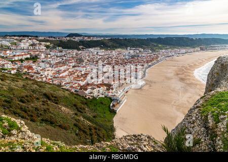 Nazare, Centro, Portugal - Stock Image