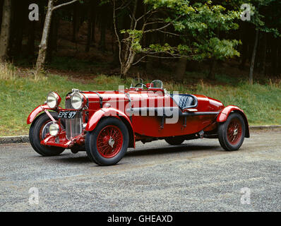 1936 Lagonda LG45R Rapide competition 4 5 litre 2 seater Country of origin United Kingdom - Stock Image