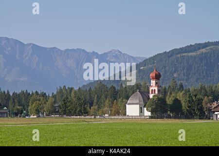 Leutasch In Tyrol - Stock Image