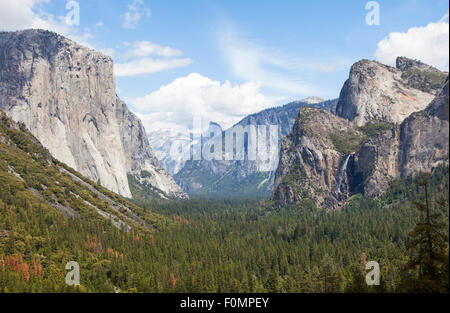 Yosemite Valley, Yosemite National Park, California, USA - Stock Image