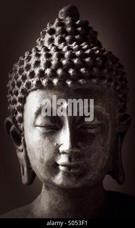 Thai Buddha Statue - Stock Image