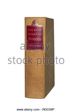 The Basic Works of Aristotle, Richard McKeon, ed., various translations into English.  Random House  Lifetime Library edition. - Stock Image