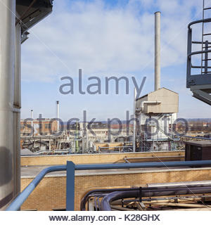 Coal gasification plant; North Thames Gasworks Slough Berkshire UK – 1970 - Stock Image